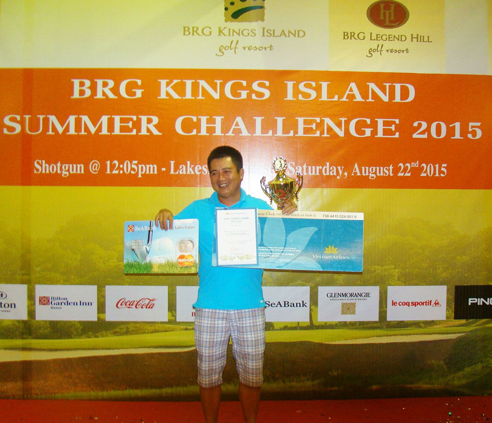 Champion of Brg Kings Island Summber Challenge