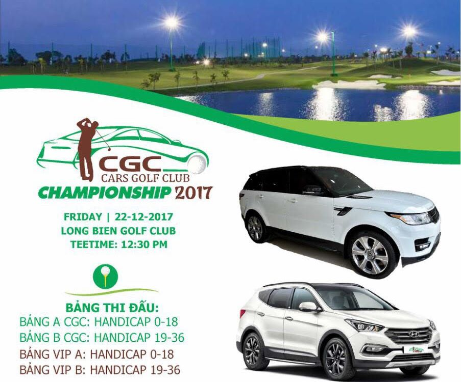 Giải golf Cars Golf Club Championship 2017