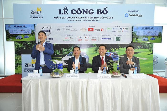 Giải golf Doanh Nhân Sài Gòn 2017 - Tranh cúp Volvo