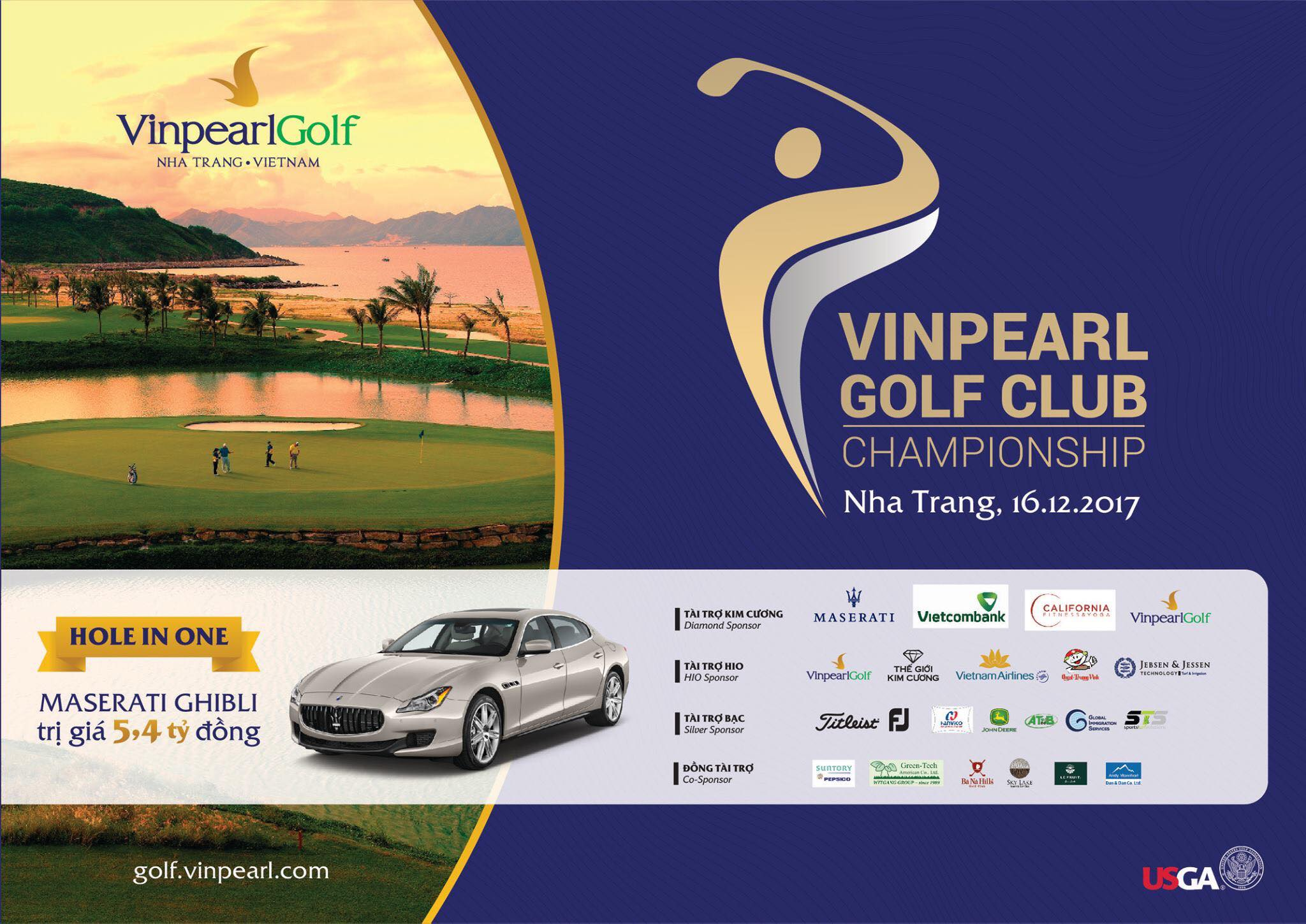 Giải golf Vinpearl Golf Club Championship Nha Trang