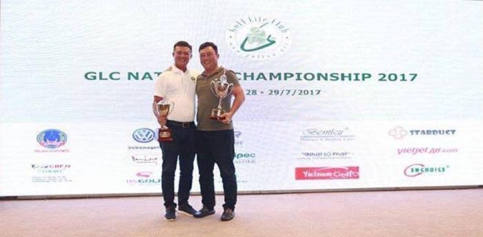 Golfer Hà Ngọc Hoàng lộc