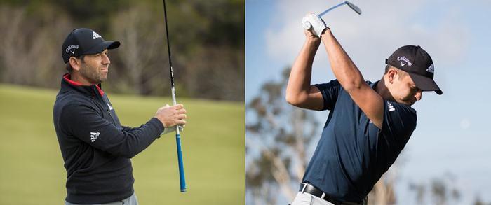 Sergio Garcia và Xander Schauffele ký hợp đồng với Callaway Golf