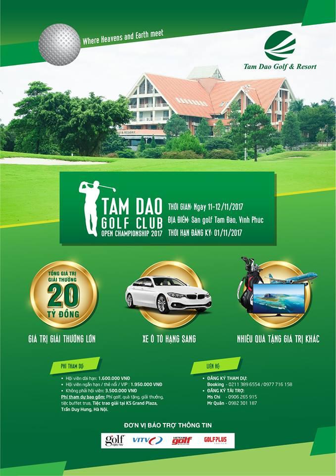 Tam Dao Golf Club Open Championship 2017