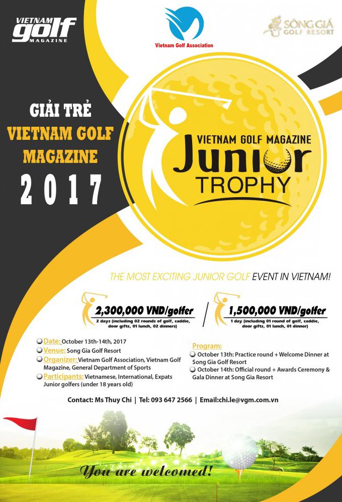 Vietnam Golf magazine Junior Trophy