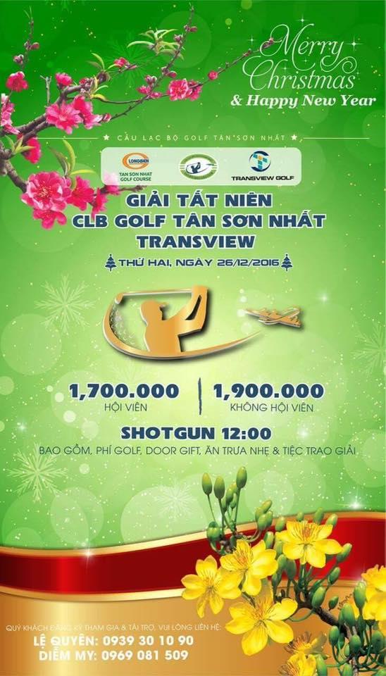 Giải tất niên CLB Golf Tân Sơn Nhất Transview