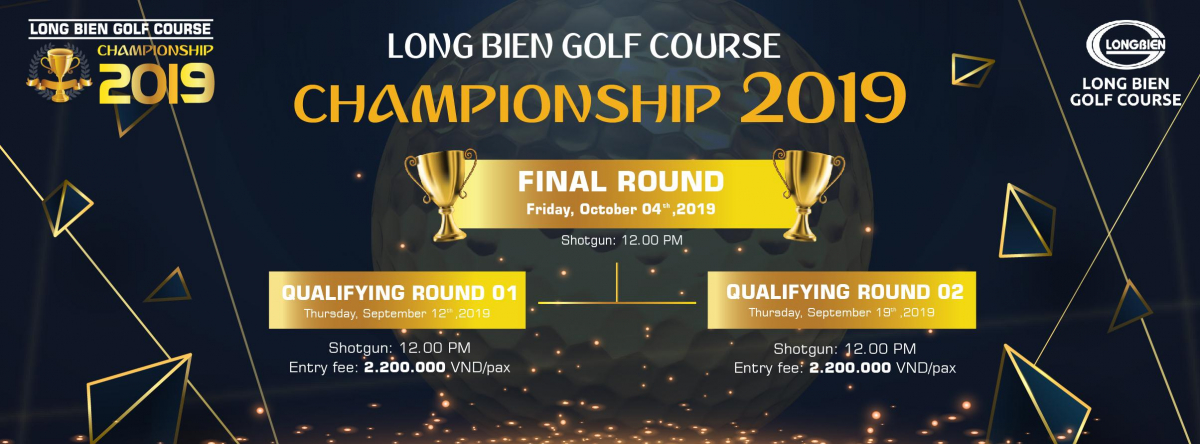 long bien golf course championship 2019