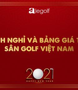 bảng giá golf tết tân sửu