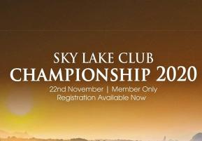 Sky Lake Club Championship 2020